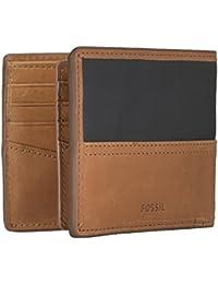 634ac6a4d4718 Fossil Geldbörse Troy Large Coin Pocket Bifold Braun Herren Portemonnaie  Leder Geldbeutel Geldtasche Börse…