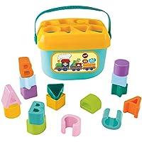 Tippi My First Blocks Shape Sorter Bucket - Baby/Toddler Toy