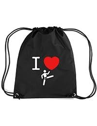 T-Shirtshock - Mochila Budget Gymsac TAM0173 taekwondo hoodie dark