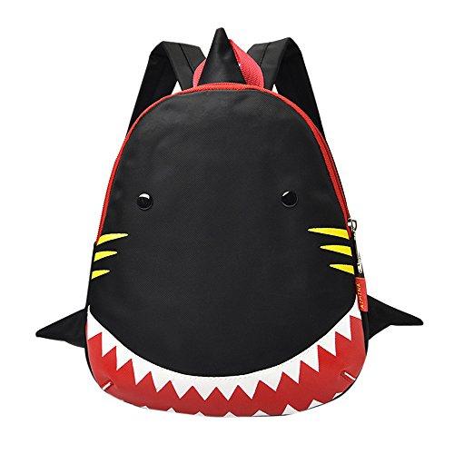 äDchen Kinder Süß Shark Muster Tiere Rucksack Kindergarten Bunt Schulrucksack Daypacks ()