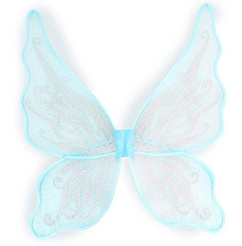 Kostüm Zahnfee Kind - Generique - Schmetterlingsflügel mit silbernen Pailletten