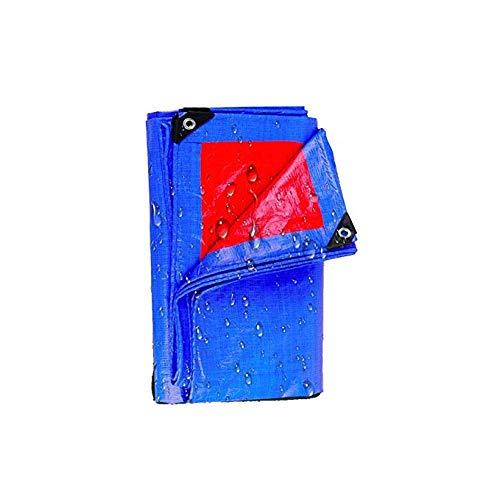 Sonnenschutz-Plane, Regendichter Stoff, Plane-blaue Orange LKW-Plane-Plastikregen-Markise (größe : 4×5m) - Orange Camo Stoff
