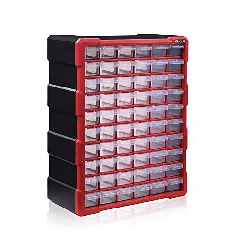 Wand-Werkzeugkasten Schublade Kunststoffteile Lagerung Hardware Box Handwerk Kabinett Schraube Container Komponente Aufbewahrungskoffer (Color : N 15059)