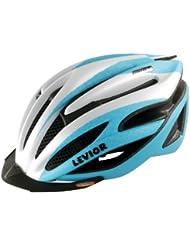 Levior Fahrradhelm Wayron Visor - Casco de ciclismo multiuso, color multicolor, talla M