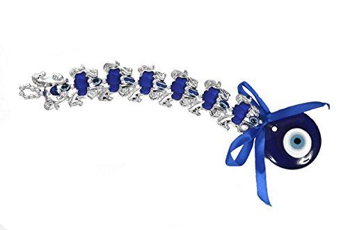 Winmaarc Azul Mal de Ojo 7Caballos de Suerte Amuleto protección Col