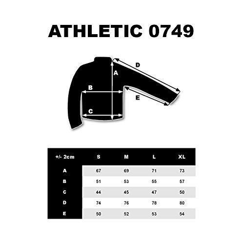 BOLF Herren Sweatshirt Rundhalsausschnitt Pullover sportlicher Stil 1A1 Schwarz_0749