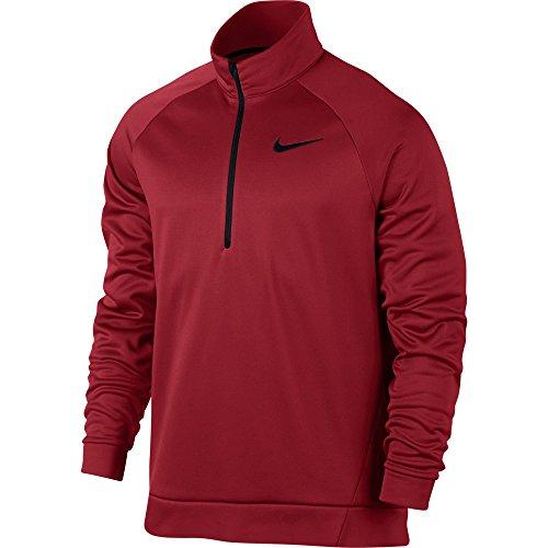 M NK THRMA TOP LS QZ - Nike (Kundenspezifische Sport-ärmeln)