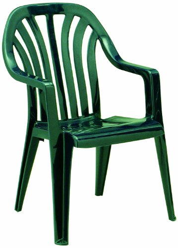 BEST 18090930 Stapelsessel Laredo, grün