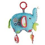 Fisher-Price FDC58 - Kleiner Spiel Elefant Babyspielzeug Plüsch Greifling, für Babys mit geschlossener Verpackung, ab der Geburt