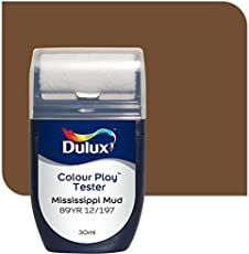 Dulux Color Play 30 ml Paint Tester (Mississippi Mud, Color Code: 89YR 12_197)