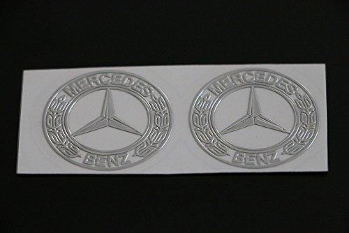 scritta-stemma-logo-adesivo-mercedes-benz-vetrofania-effetto-rilievo-cromato-s1