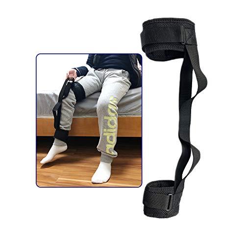 Oberschenkelheber Beinband zum Anheben von Fußbeinen verstellbare Füße Riemen mit Handgriff Knöchelheber Schlaufen Mobilitätshilfen Zubehör ältere Menschen Behinderung Kinderzimmer Rollstuhlbett