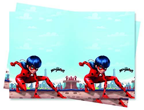 Procos - Mantel, rojo, negro, 20055