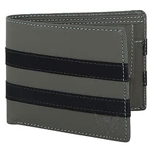 Lorenz Grey Wallet for Men & Boys | Men's Leather Wallet | Men's Wallet | Boys Wallet- WL-11