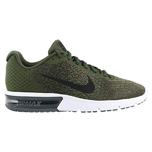 852461 300|Nike Air Max Sequent 2 Laufschuhe Khaki|46