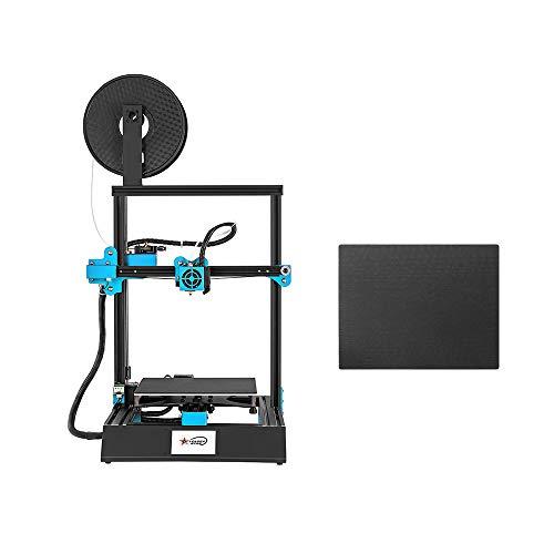 KKmoon Stampante 3D ad Alta Precisione Touchscreen da 3,8 pollici Fai da te Autoassemblaggio 220 * 220 * 270mm Max di Stampa con Lastra di Vetro e 10m Filament per Casa e Scuola