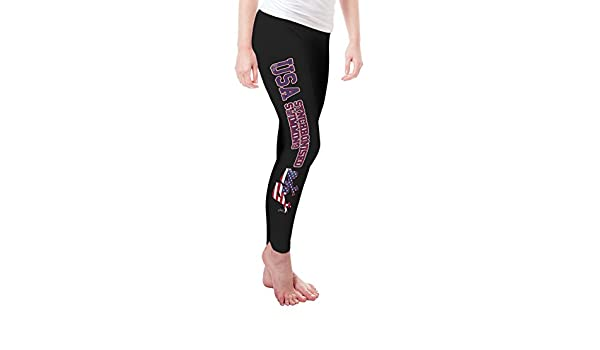 Twisted Envy USA Synchronized Swimming Baby Funny Leggings