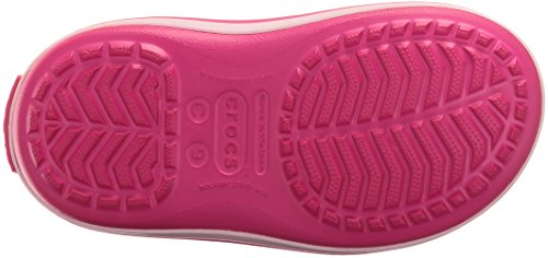 Crocs Winter Puff Boot, Bottes de Neige Mixte Enfant Rose (Candy Pink)