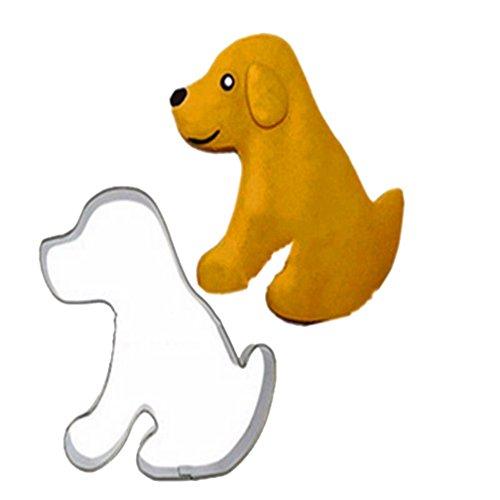 Chinget Ausstechform Schimmel Backen Biskuit Form Kuchen Dekorieren Edelstahl Hund
