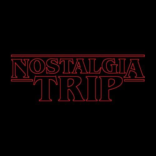 Stranger Things Nostalgia Trip Women's Sweatshirt Black