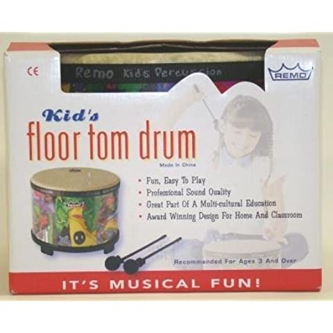Remo Kid's Percussion Floor Tom Drum with