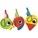 Magideal Wooden Animal Bird Whistle Kids Musical Instrument Educational Whistle Toy