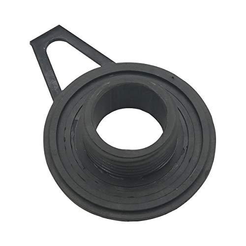 Cancanle Ölpumpe, Schneckengetriebe, Ölschlauch, Filter-Set für Husqvarna 365 371 372 XP 372XP 362 Kettensäge Worm Gear