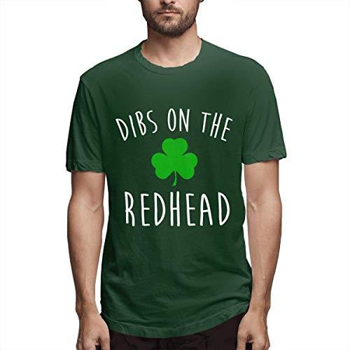 Hobby-T-Shirt Dibs auf der Rothaarigen Lustigen St Patrick Tag Lustigen St Patrick Tagest-Shirt
