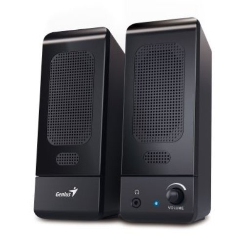 genius-sp-u120-3w-altavoces-mesa-estante-pc-ordenador-portatil-de-1-via-160-20000-hz-giratorio-negro