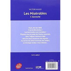 Les misérables - Tome 3 - Gavroche - Texte Abrégé