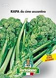 Sementi orticole di qualità l'ortolano in busta termosaldata (160 varietà) (RAPA DA CIME SESSANTINA)