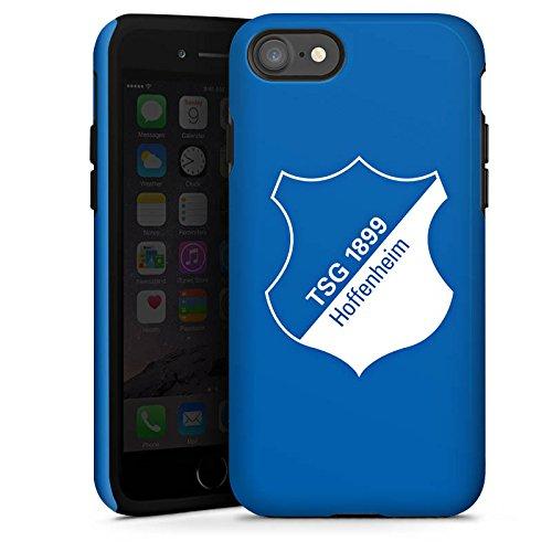 Apple iPhone X Silikon Hülle Case Schutzhülle TSG Hoffenheim Fanartikel Fußball Tough Case glänzend