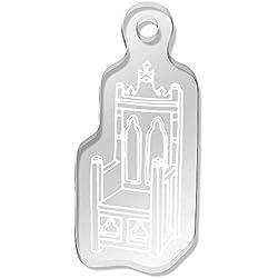 Azeeda 'Trono Medieval' Llavero (AK00044495)