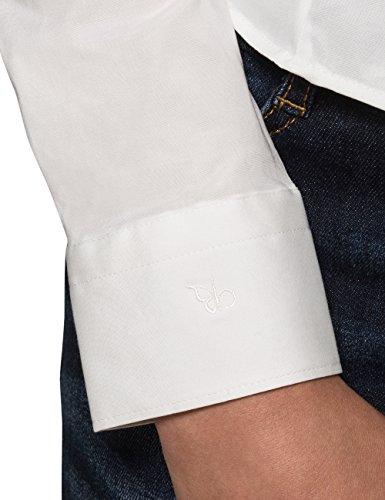 Berydale Chemise détente et business à confort de port élevé grâce à sa teneur en élasthanne Blanc