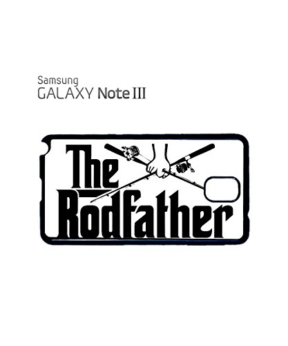 The Rodfather Fishing Funny Mobile Phone Case Samsung Note 3 White Noir
