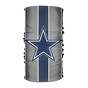 guanggs Dallas-Cowboys Mobile Unisex Multifunctional Seamless Mask,Magic Bandanas Tube, Seamless Scarf, Collars Muffler Scarf Face Mask, High Elastic Magic Headband with Uv Resistance, Headscarves