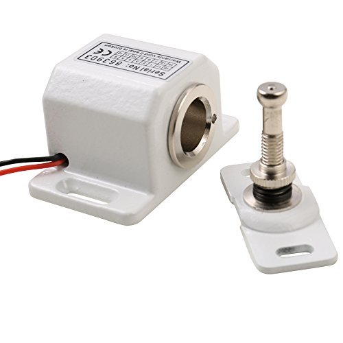 Matee DC 12V Metall Fail Safe NC Modus multifunktionalen Mini Electric Schrank Schloss für Datei Cabinet & Display Fall