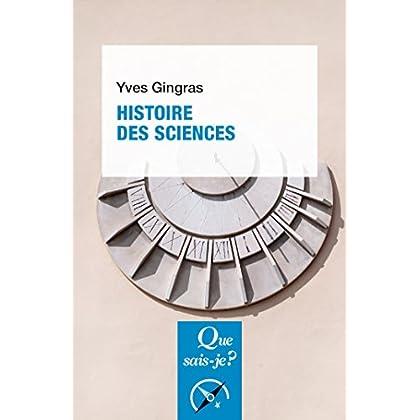 Histoire des sciences: « Que sais-je ? » n° 3495