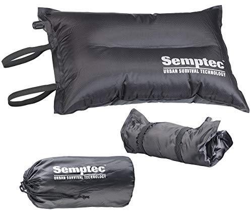 Semptec Urban Survival Technology Aufblasbares Luftkissen: Selbstaufblasendes Camping-Kopf- und Sitz-Kissen (Camping-Sitzkissen)