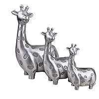 QQA Giraffe Piggy Bank Metal Coin Can Toy Gifts Birthday For Kids Money Box Ornaments 1Pcs,15.3X9.5X23.7CM
