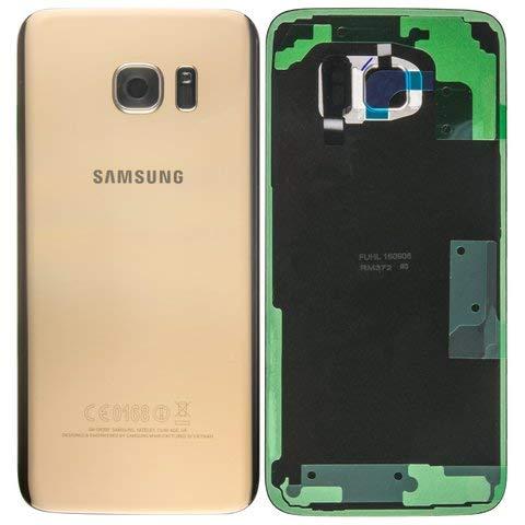 AGI Original Battery Cover Gold für Samsung G935F Galaxy S7 Edge Original -