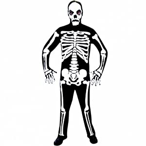 Christy`s 996204 - Disfraz de esqueleto para hombre (adulto)