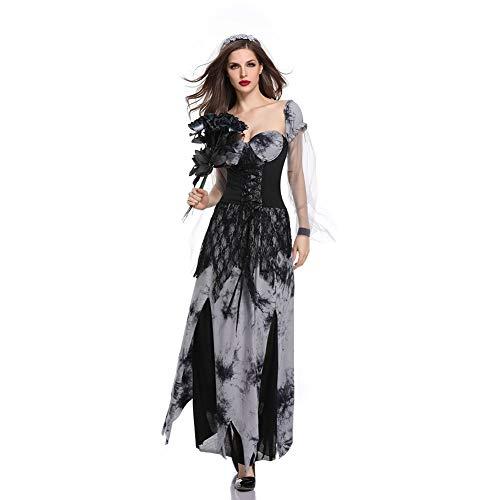 t Braut Kleid Weiblichen Teufel Vampir Zombie Braut Cosplay Kostüm Horror Spiel Kostüm ()