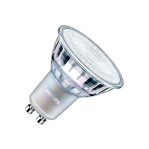 Bombilla LED GU10 Regulable PHILIPS CorePro MAS spotMV 3.5W 60° Blanco Neutro 4000K efectoLED