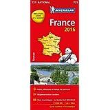 Carte France 2016 Michelin