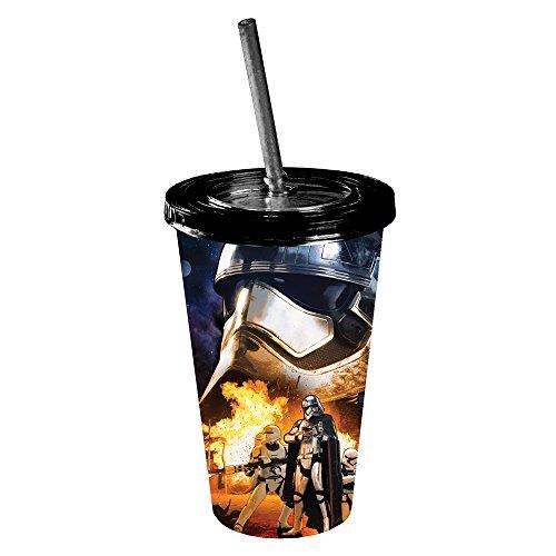 Star Wars Ep VII: The Force Awakens Captain Phasma Destruction Tumbler