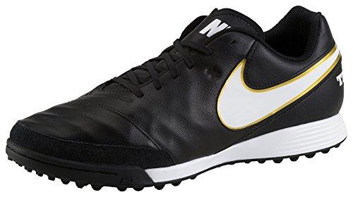 Nike - Tiempo Genio II Leather TF, Scarpe da calcio Uomo Nero