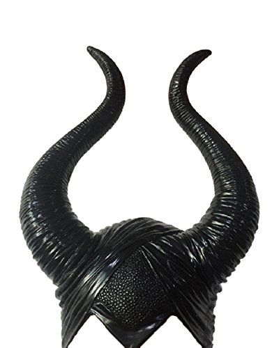 DylunSky New Halloween Black Horn (Maleficent'für Halloween)