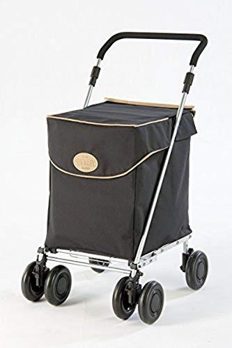 Original Sholley Deluxe 'Westminster' Faltbare Einkaufstrolley, Einkaufswagen mit Rädern, Handwagen, 4 Räder, 6 Räder