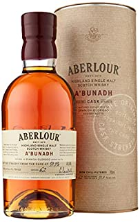 Aberlour A'Bunadh Cask Highland Single Malt Scotch Whisky, 70 cl (batch numbers may vary) (B004CY91AA) | Amazon Products